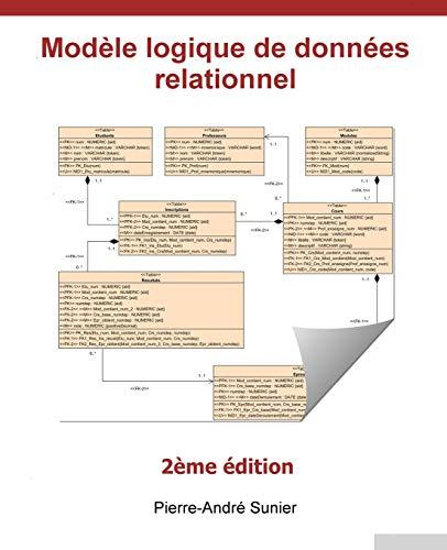 Modèle logique de données relationnel par Pierre-André Sunier