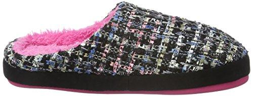 s.Oliver Unisex-Erwachsene 47100 Pantoffeln Schwarz (BLACK SEQUINS 031)