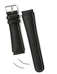 Suunto Ersatzteil X-Lan S-Lan Leather Strap Kit, Black, One size, SS0S4703000
