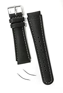 Suunto Ersatzteil X-Lan S-Lan Leather Strap Kit, Black, One size, SS0S4703000