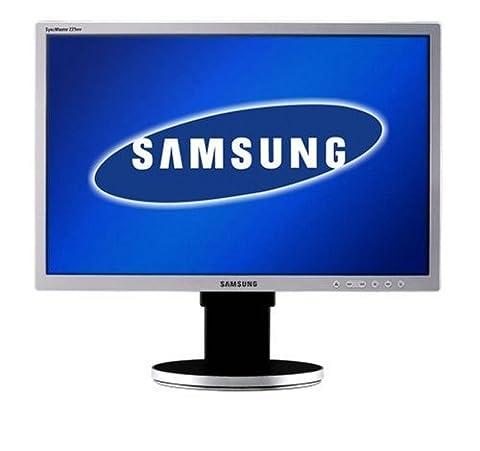 Samsung Syncmaster 225BW 55,9 cm (22 Zoll) wide screen TFT Monitor siber/schwarz DVI (Kontrast 700:1, 5Ms Reaktionszeit) (Auflösung 1680 x 1050 Bildpunkte)