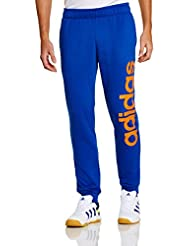 Adidas Men's Essentials Linear Light Slim Closed Hem Pants