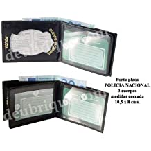 Deubrique - Cartera billetera porta placas policia nacional cnp