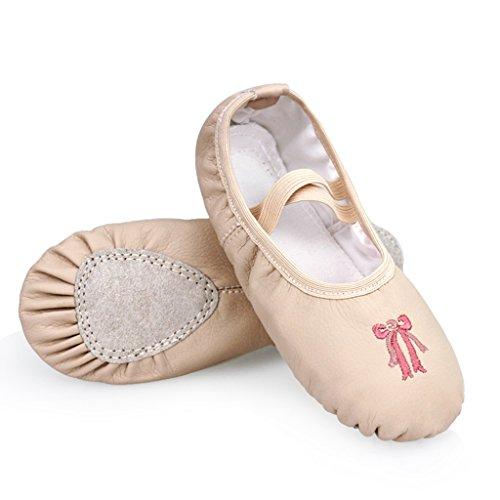 Kostüm Tango Mann (DoGeek Gute Qualität Ballettschuhe weich Spitzenschuhe Ballet Trainings Schläppchen Schuhe für Mädchen/Damen in den Größen)