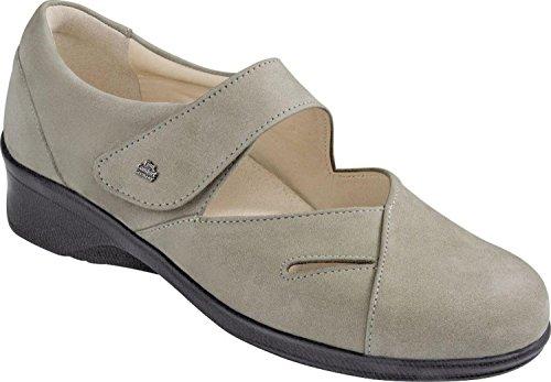 Finn-Comfort Mod.: Aquila, 3594, Damen, Spangenhalbschuh,Farbe Rock Grau