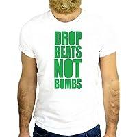 T SHIRT JODE Z1792 DROP BEATS NOT BOMB MUSIC FUNNY COOL FASHION NICE GGG24