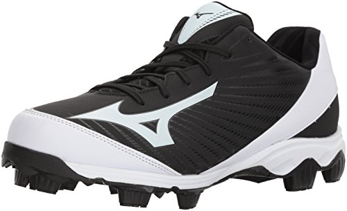 Mizuno (MIZD9 Herren 9 Spike Advanced Franchise 9 Molded Baseball Cleat-Low Schuh, Schwarz (schwarz/weiß), 39.5 EU
