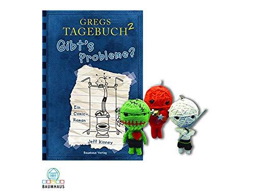 Baumhaus Medien Gregs Tagebuch 2 : Gibt's Probleme? (Gebundenes Buch) + 1. Coole Voodoo Puppe