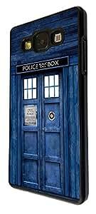 SAMSUNG Galaxy A5 Doctor Who Tardis Police Call Box Design Fashion Trend Cover Coque arriere Coque Case-Plastique et métal