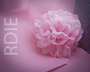 24 feuilles de papier de soie Rose Clair, 50x75cm, 18 grs