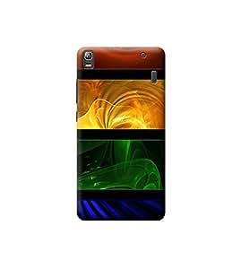 Ebby Premium 3d Desinger Printed Back Case Cover For Lenovo A7000/K3 Note (Premium Desinger Case)