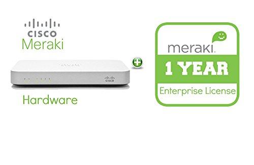 Cisco Meraki MX64 Cloud Managed Security Appliance mit 1 Jahr Enterprise Lizenz