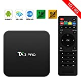 TX3 PRO Android 6.0 TV Box Marshmallow S905W 1G ROM 8G RAM 4K H.265 64BIT DLNA...