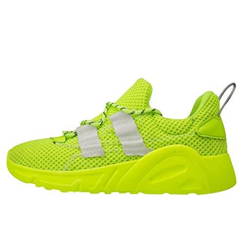 Subfamily Sneakers Traspiranti a Rete Casual Scarpe da Corsa Moda Estiva da Uomo Sneakers Traspiranti a Rete Scarpe da Ginnastica Fitness Scarpe Buco Festa del papà