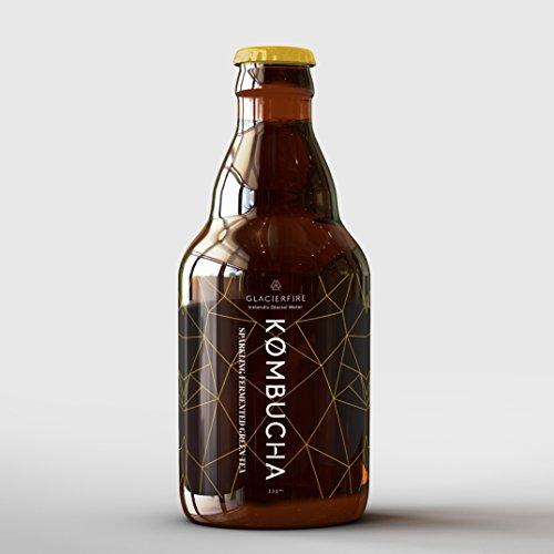 GlacierFire – Isländischer Bio-Kombucha – 330 ml
