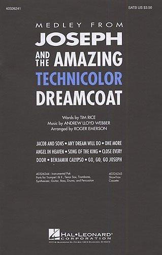 andrew-lloyd-webber-joseph-and-the-amazing-technicolor-dreamcoat-medley-satb-partituras-para-satb-ac