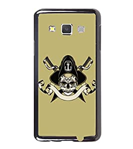 Vizagbeats Skull And Cross Bones Back Case Cover For Samsung Galaxy A3