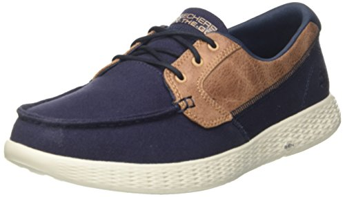 Skechers Herren On-The-go Glide - High Seas Bootschuhe, Blau (Navy), 41 EU