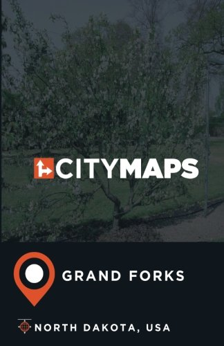 City Maps Grand Forks North Dakota, USA -