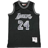 Camiseta de Baloncesto Bryant para Hombre, Lakers 8# 24# Camiseta Retro Ropa Deportiva de Baloncesto de Verano Edición Conmemorativa, Nueva Malla de Tela Transpirable Transpiración Secado rápido-