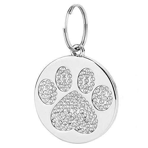 T.boys Pet-Tags Haustiermarke Hundekatze ID Haustier-Schmuck-Halskette Anhänger mit Gravur für Haustiere Namensschilder für Hunde und Katzen mit Personalisierung | LEICHT UND LANGLEBIG