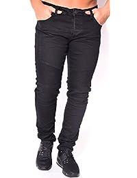 Jeans homme motard