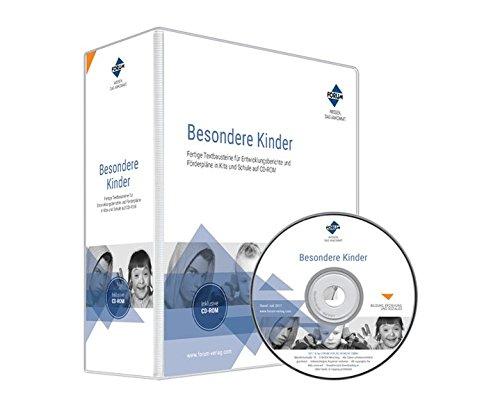 Besondere Kinder, CD-ROMFertige Textbausteine für Entwicklungsberichte und Förderpläne auf CD-ROM