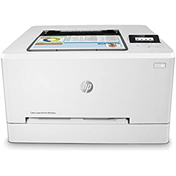 HP Laser Jet Pro M254nw - Impresora color láser (hasta 21 ppm, ethernet y Wi-Fi, inalámbrico, DDR de 256 MB, disco duro de 2 GB, Windows 7, 8, 8.1 y ...