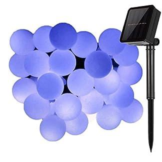 Solarleuchten-led-LichterketteKINGCOO-23ft-50LEDs-RundeGlobe-Stimmungslichter-Solar-Schnur-Lichter-Partybeleuchtung-Weihnachtsbeleuchtung-Kugel-Lichterkette-fr-Innen-und-Auen-Haushalt-Garten