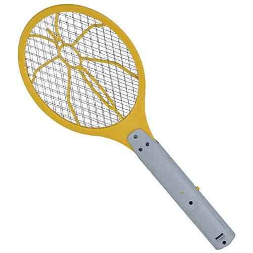 marion10020 Elektrische Fliegenklatsche Fliegen-Klatsche Insektenfalle Bug Zapper, gelb, 4er-Set