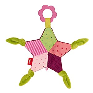 Sigikid 41996crujidos Star PlayQ de Peluche, Rosa, 24x 24x 2cm