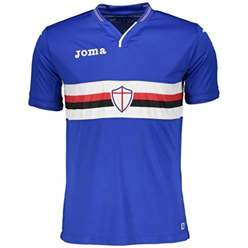 Joma 2018-2019 Sampdoria Home Football Shirt