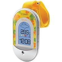 Oregon Scientific 1201544 - Estación meteorológica para bebé, controla temperatura y humedad, incluye cinta