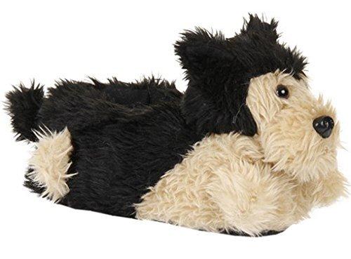 Loungeable Boutique, Damen Mädchen Kuschelig Neuheit Tier Pantoffeln - Hund, Damen, - Für Hausschuhe Hund Frauen