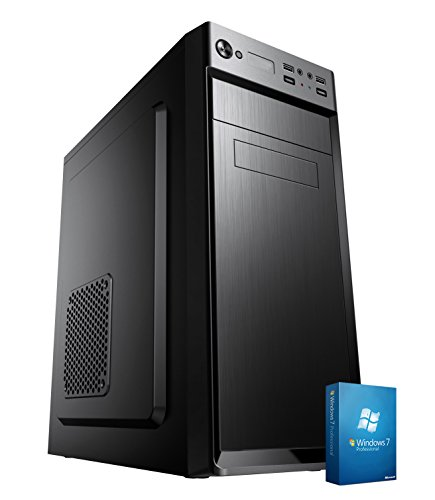 PC DESKTOP COMPUTER FISSO▬LICENZA WINDOWS 7 PRO▬ASSEMBLATO COMPLETO Intel QUAD-CORE fino a 2.3 GHZ▬RAM 8GB▬HD 1TB▬MASTERIZZATORE▬DILC GREEN HIGH