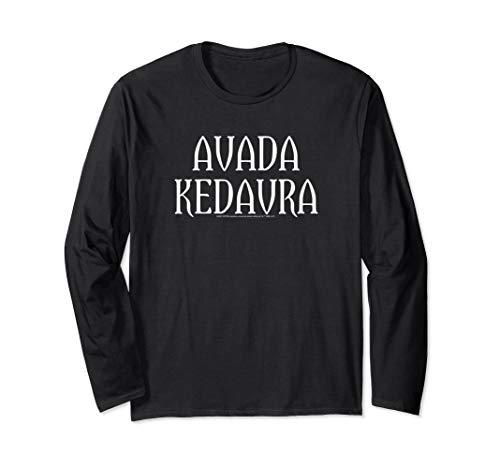 Harry Potter Avada Kedavra Langarmshirt -