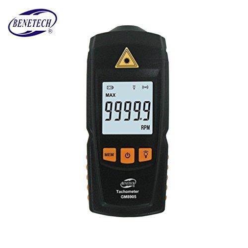 Topker GM8905 Digital LCD Tachometer Berührungslose Drehzahl Tach Test Meter Motor Geschwindigkeitsmesser Tester - Trommel-einheit Modell