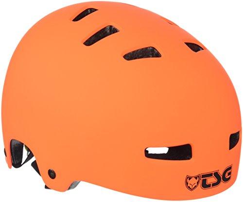 TSG Helm Evolution Solid Color, Orange (Flat Orange), L/XL, 75046
