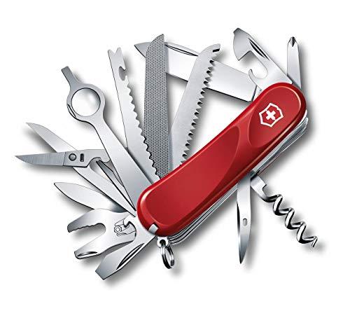 Victorinox The Original Swiss Army Knife 2.5383.E Evolution 28 Coltellino svizzero, Colore Rosso