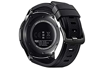 Samsung Sm-r760ndaadbt Gear S3 Frontier Smartwatch (3,3 Cm (1,3 Zoll) Display, Nfc, Bluetooth, Wlan, Tizen Os, Mit Silikon-armband) 2