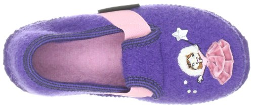 Giesswein Trausnitz 58/10/41556, Chaussons fille Violet-TR-H2-21