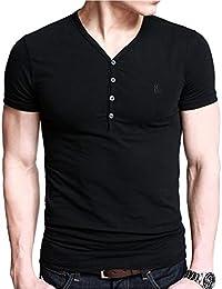 iLoveSIA Herren Poloshirt Baumwolle T-shirt Kurzarm Polo Basic Sommer