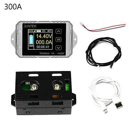 Besttse DC 120V 50A ~300A Drahtloser Amperemeter Voltage, kWh-Watt-Messgerät Autobatterie Coulometer