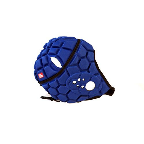 HEAT PRO Rugby Helm, Spielhelm Profi, Farbe königsblau