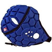 Heat Pro – Casco de rugby profesional, color azul, color azul cobalto, tamaño extra-small