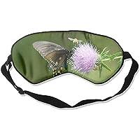 Beautiful Texas Thistle With Butterflies And Bee 99% Eyeshade Blinders Sleeping Eye Patch Eye Mask Blindfold For... preisvergleich bei billige-tabletten.eu