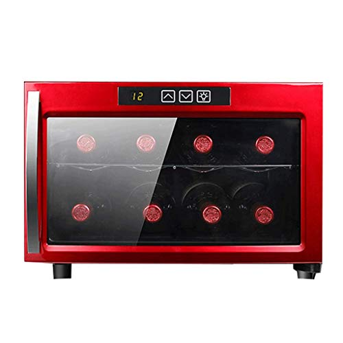 Jiongzhuo Enfriador Vino 8 Botellas termostato electrónico