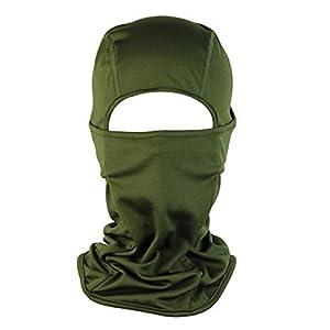 Demarkt Volltonfarbe Multifunktionstuch Motorradmaske- Hochwertige Sturmhaube als Wärm- und Schutztuch – Halstuch, Face Shield, Gesichtsmaske