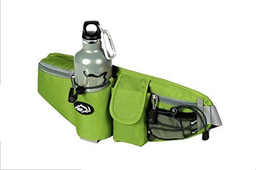 BIPY im Freien laufen Freizeit Bergsteigen Taschen Polyester Pack of 1 grün