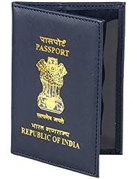 BluHawk Indian Black Polyster Passport Cover
